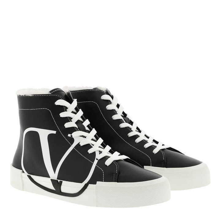 shoes, Valentino Garavani, Sneaker Low Black/White