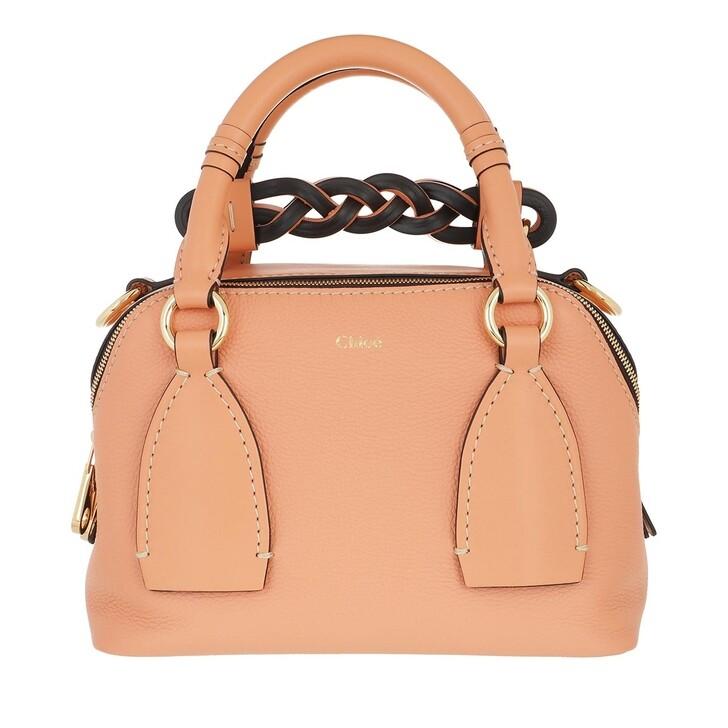 bags, Chloé, Daria Shoulder Bag Small Peach Bloom