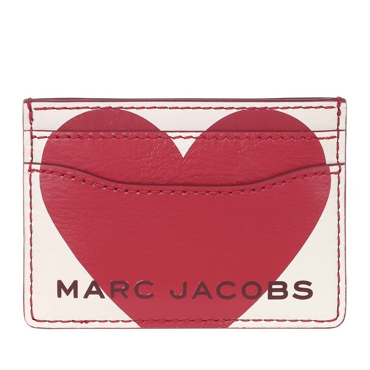 Geldbörse, Marc Jacobs, The Heart Box Cardcase Cotton Multi