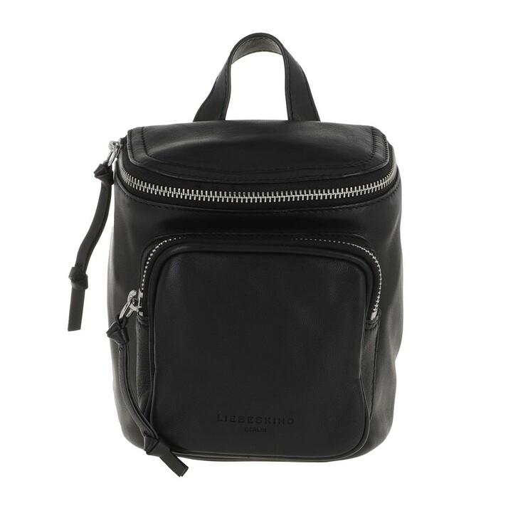 bags, Liebeskind Berlin, Tamora Extra Small Backpack Black
