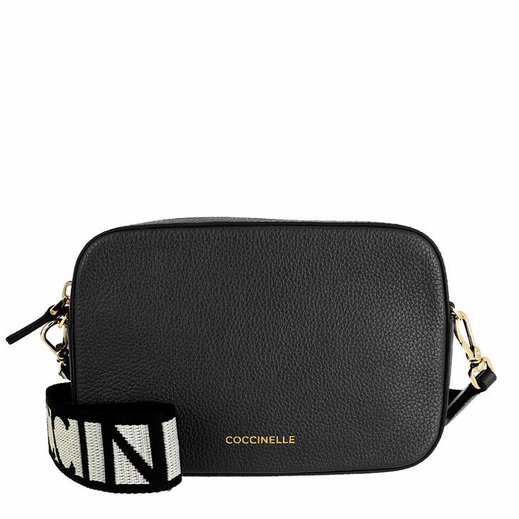 Handtasche, Coccinelle, Mini Bag Bottalatino Leather Noir