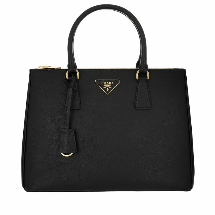 Handtasche, Prada, Galleria Tote Bag Saffiano Lux 2 Nero