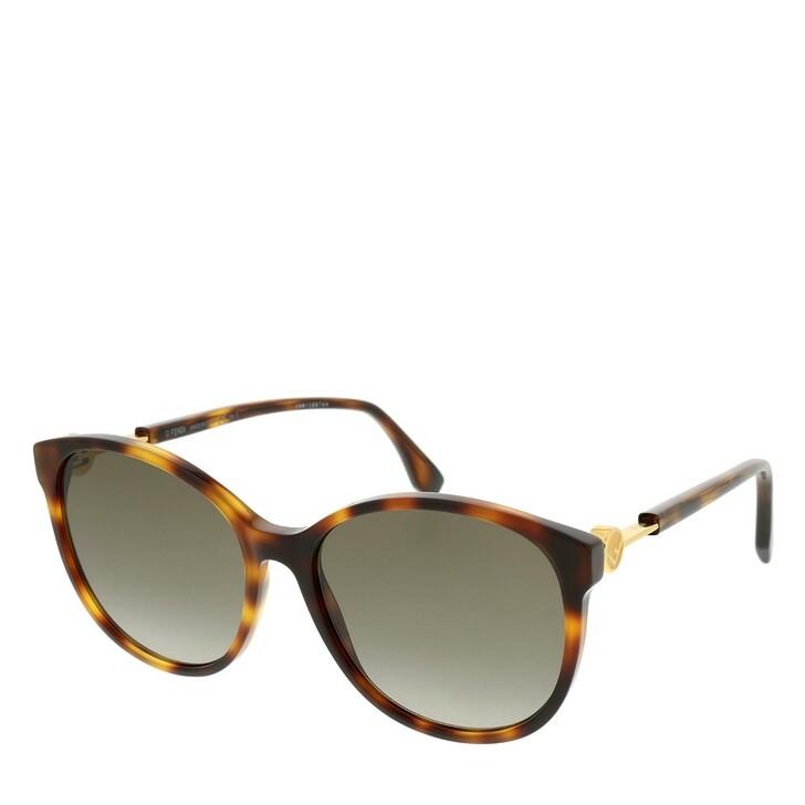 Sonnenbrille, Fendi, FF 0412/S Sunglasses Dark Havana
