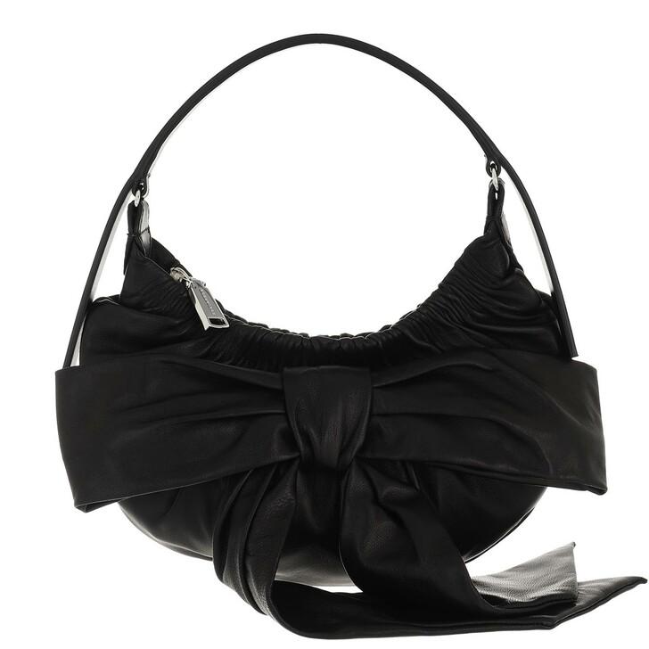 bags, Dsquared2, Mini Hobo Bag Black