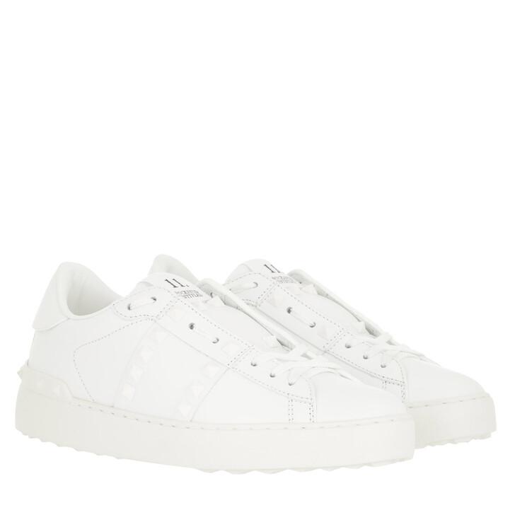 Schuh, Valentino, Rockstud Sneaker Untitled White