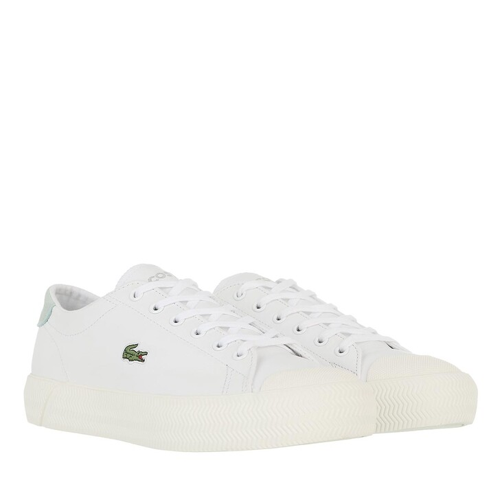 shoes, Lacoste, Gripshot     White Light Green