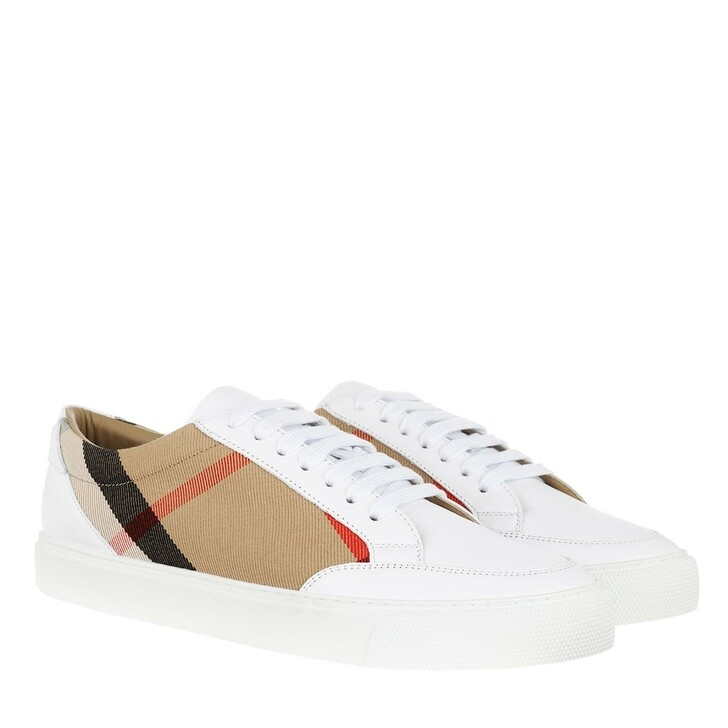 Schuh, Burberry, House Check Sneakers White