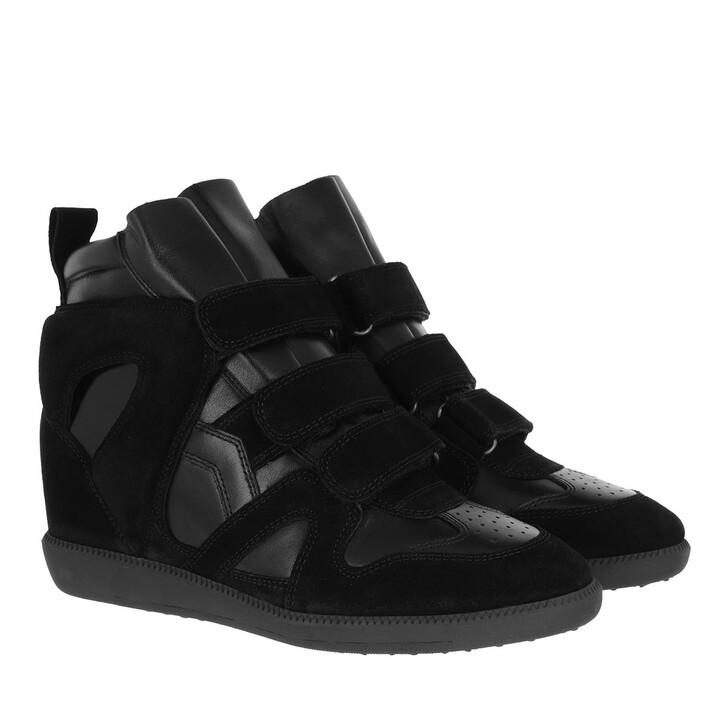shoes, Isabel Marant, Buckee Sneaker Black
