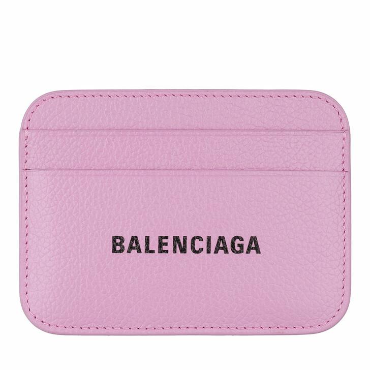 Geldbörse, Balenciaga, Cash Card Holder Lilac/Black