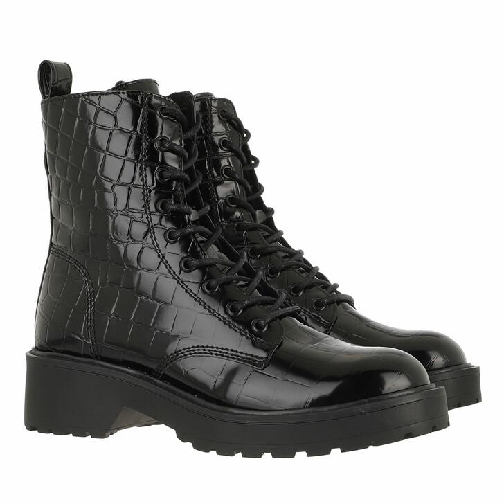 Schuh, Steve Madden, Tornado Ankle Boots Black