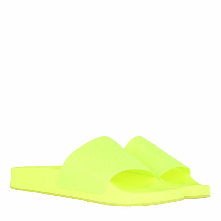 Schuh, MM6 Maison Margiela, Flats Matt TPU Yellow Fluo