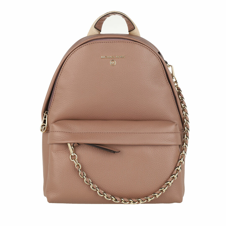 Reisetasche, MICHAEL Michael Kors, Slater Medium Backpack Dark Fawn