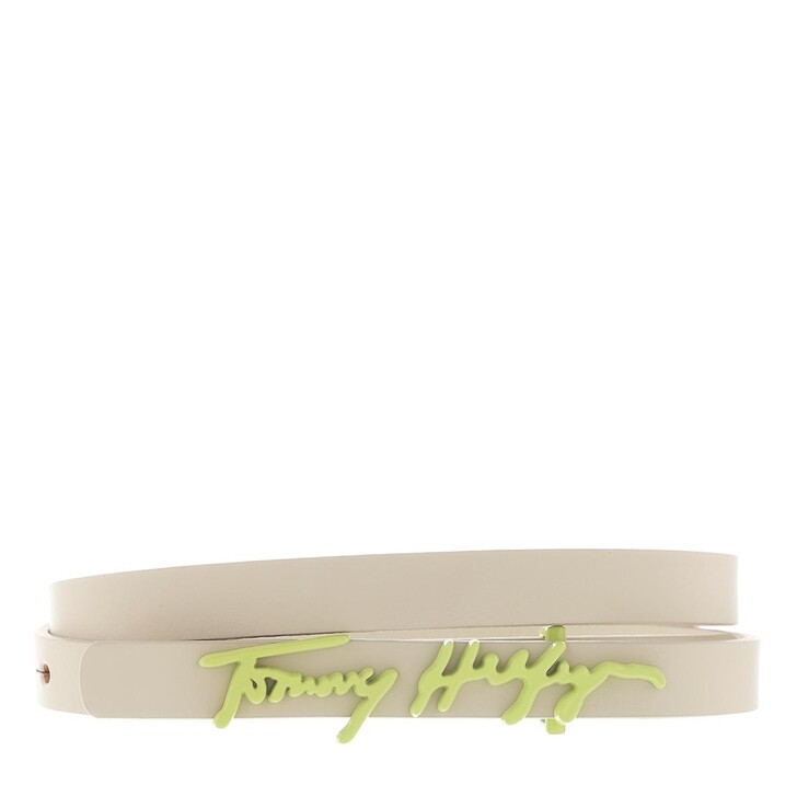 Gürtel, Tommy Hilfiger, Signature Belt 1.5 Classic Beige