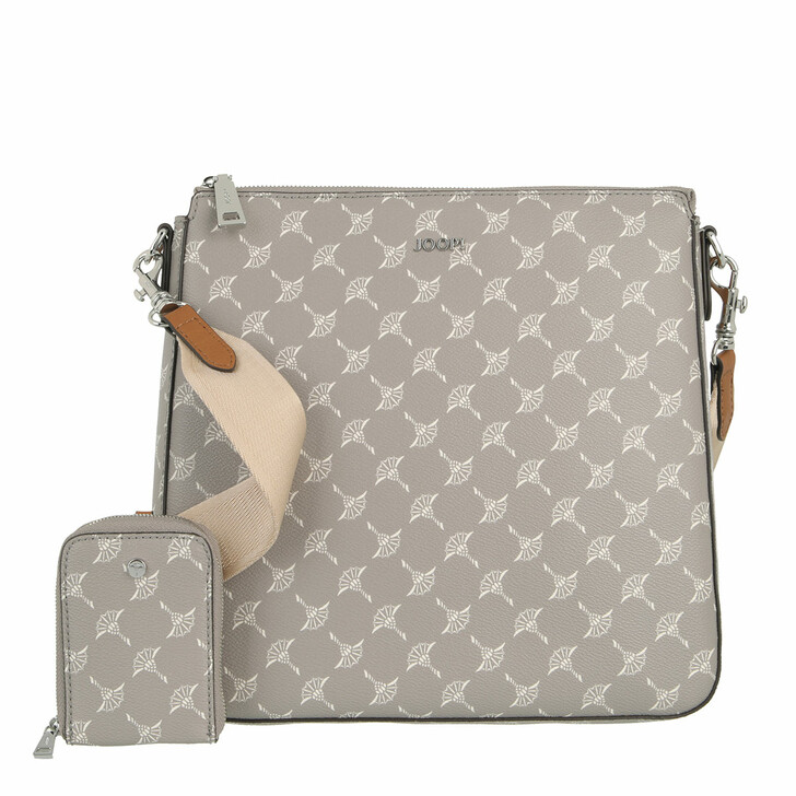 bags, JOOP!, Cortina Jasmina Shoulderbag Mvz Opal Gray