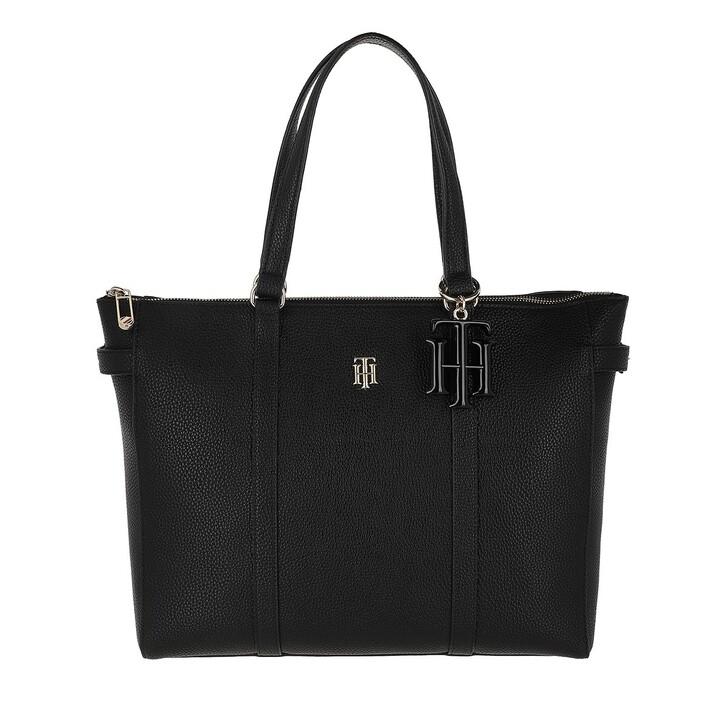 Handtasche, Tommy Hilfiger, TH Soft Tote Bag Black