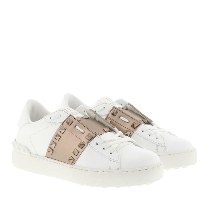 Schuh, Valentino Garavani, Open Sneakers White/Skin