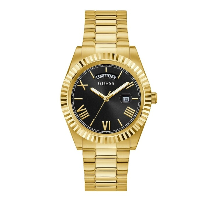 watches, Guess, Mens Watch Connoisseur Gold