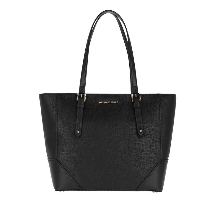 Handtasche, MICHAEL Michael Kors, Aria Large Tote Bag Black