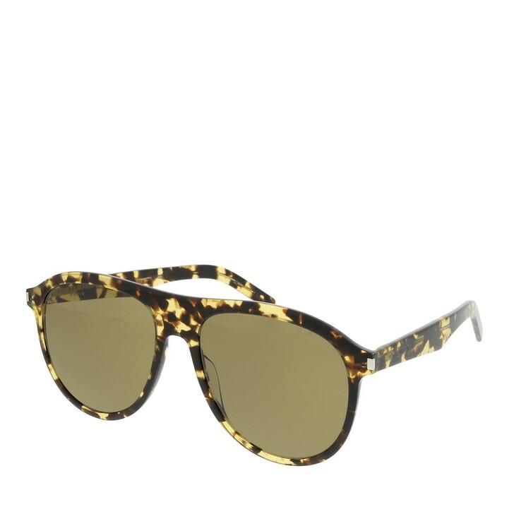 sunglasses, Saint Laurent, SL 432 SLIM-004 57 Sunglasses Man Havana