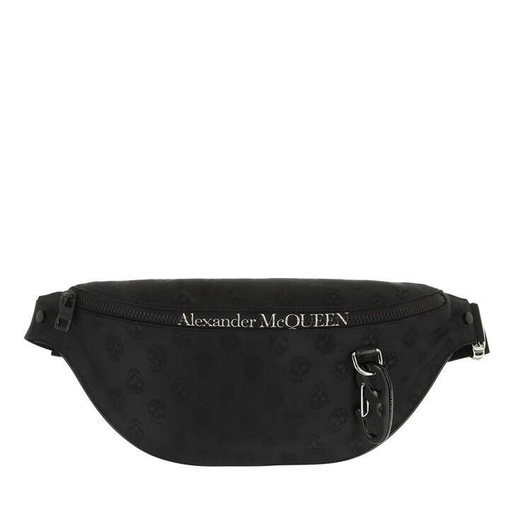 belt_bags, Alexander McQueen, Belt Bag Black