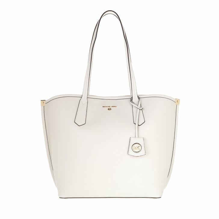 bags, MICHAEL Michael Kors, Jane Large Tote Optic White