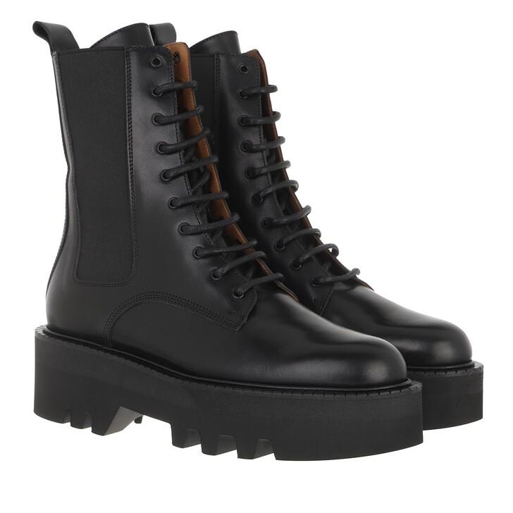 shoes, ATP Atelier, Pesaro Chunky Boot Vachetta Black