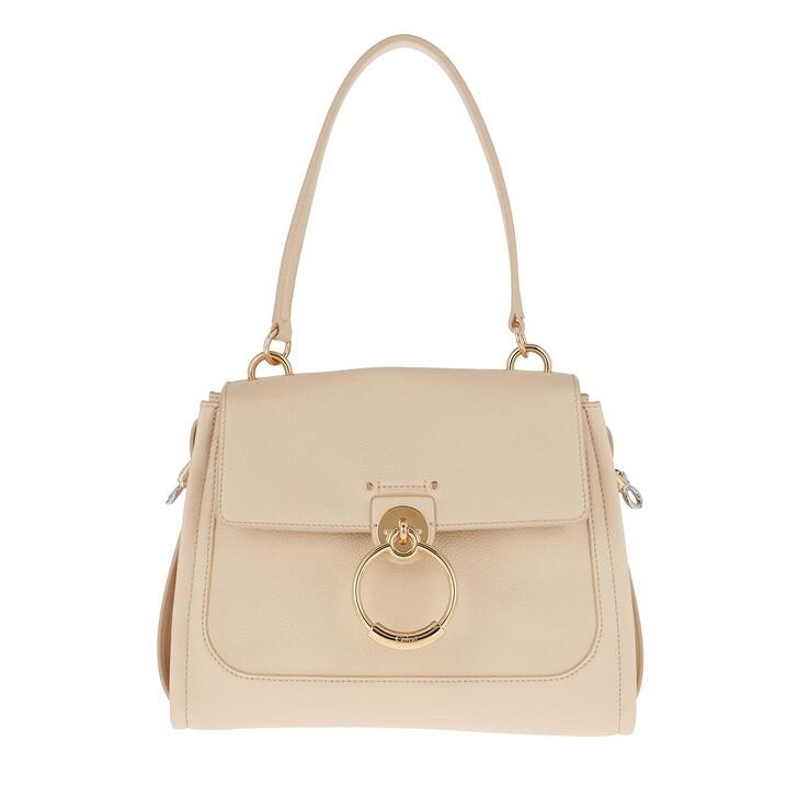 Handtasche, Chloé, Tess Day Small Crossbody Bag Leather Sweet Beige