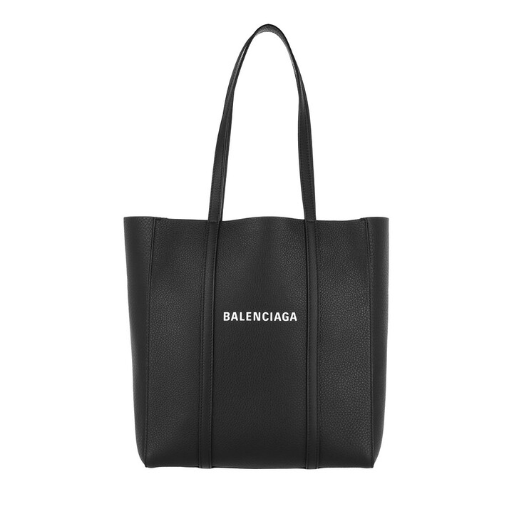 Handtasche, Balenciaga, Everyday XS Tote Bag Leather Black/White