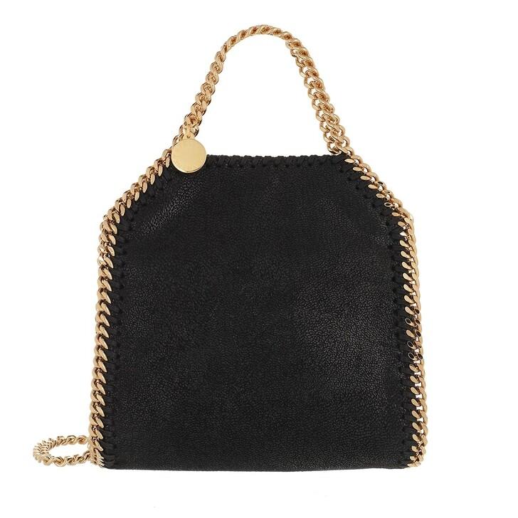 bags, Stella McCartney, Tiny Falabella Crossbody Black