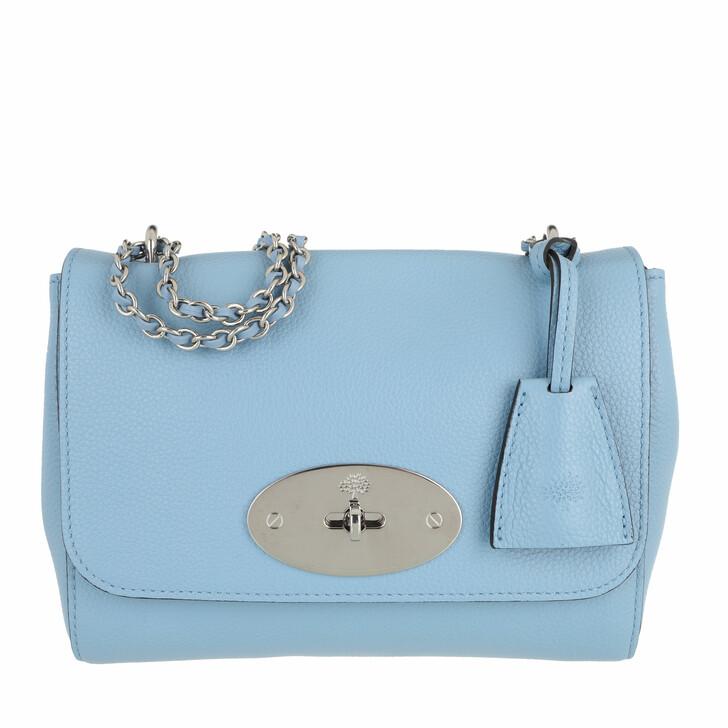 bags, Mulberry, Chain Strap Shoulder Bag Blue