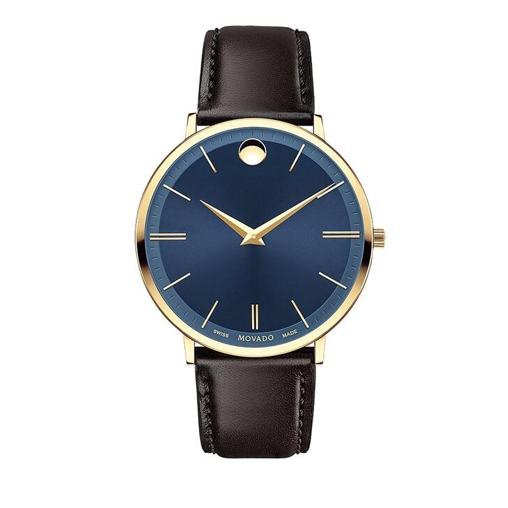 Uhr, Movado, Ultra Slim Watch Brown
