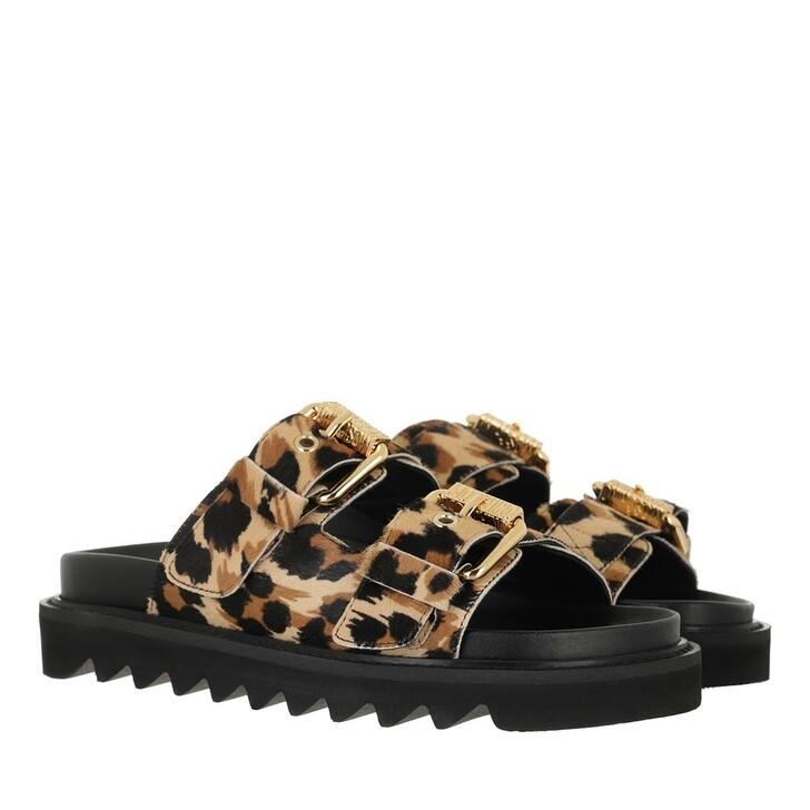 shoes, Moschino, Sabotd Fussbett50 Cav St  Leo Beige