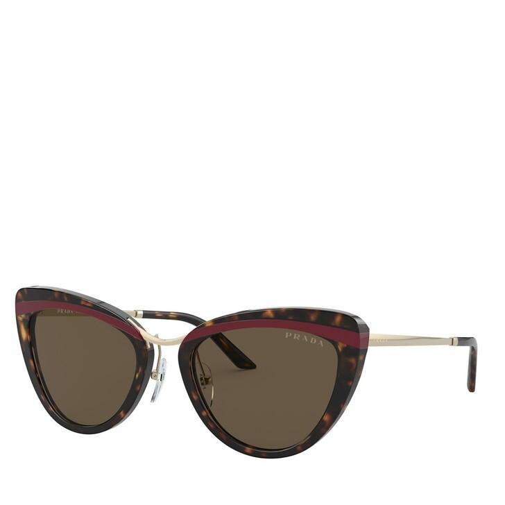 Sonnenbrille, Prada, AZETAT WOMEN SONNE HAVANA/RED/HAVANA