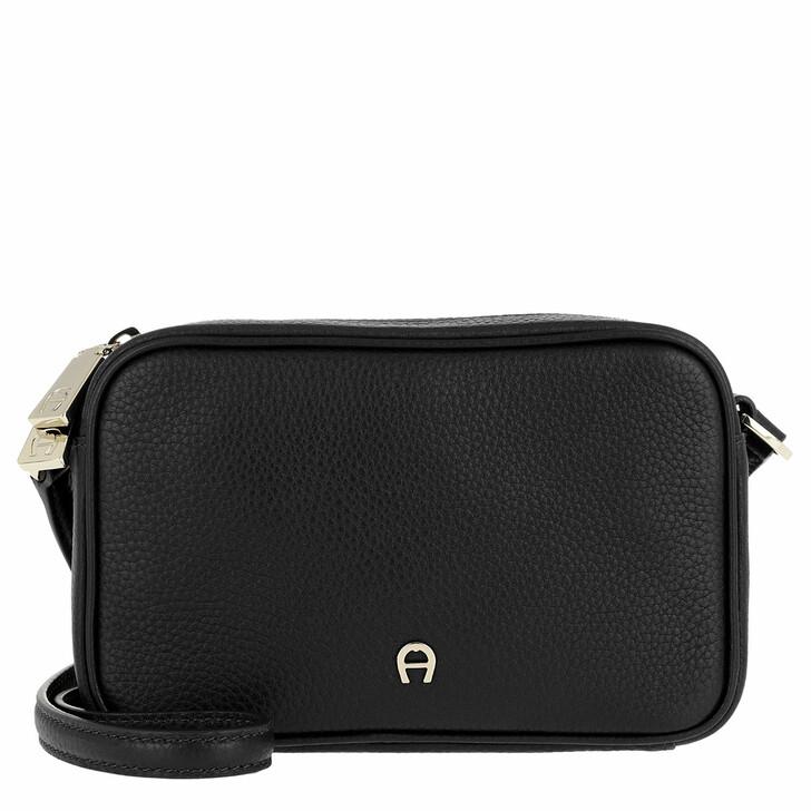 Handtasche, AIGNER, Amy Handle Bag Black