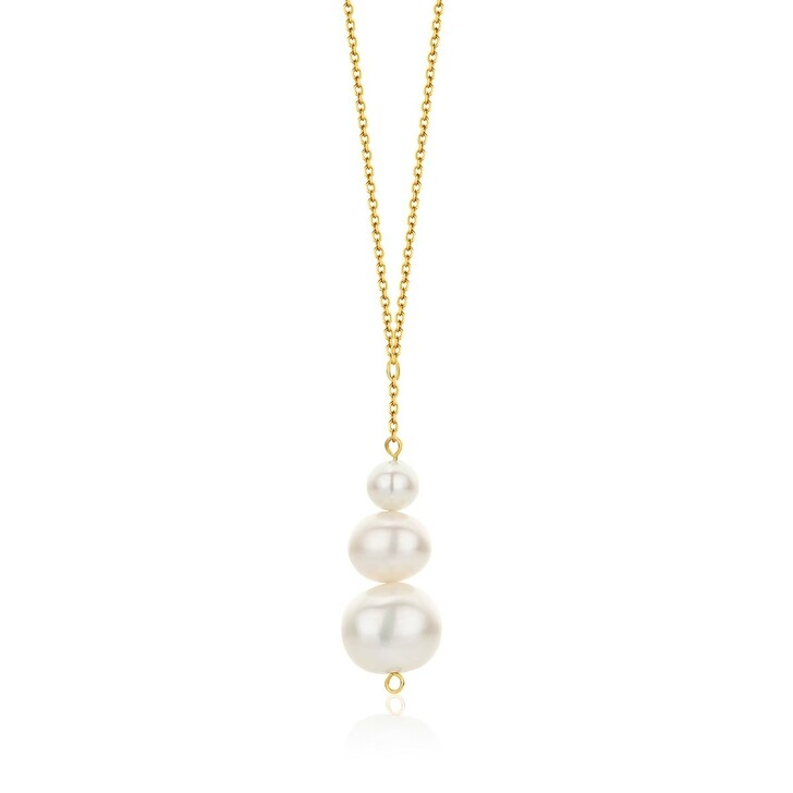 Kette, DIAMADA, 14KT (585) Pearl Necklace Yellow Gold
