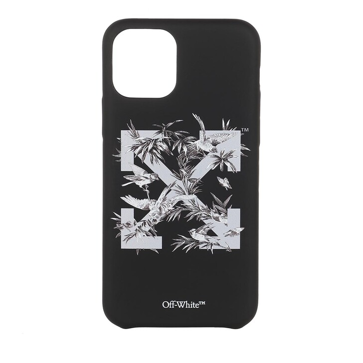 Smartphone/Tablet case (Case), Off-White, Birds 11Pro Cover  Black Grey