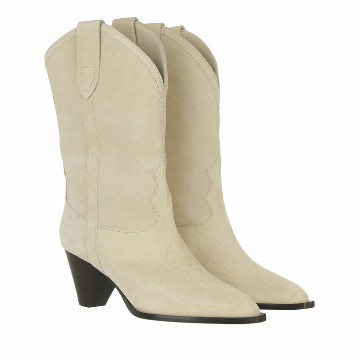 shoes, Isabel Marant, Luliette Boots Suede Leather Sand