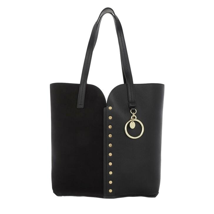 Handtasche, See By Chloé, Gaia Shopper Small Black