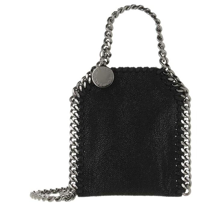 bags, Stella McCartney, Micro Bag Falabella Shaggy Dear Black