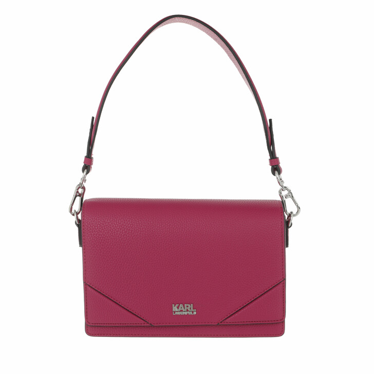 bags, Karl Lagerfeld, K/Stone Big Shoulderbag A564 Orchid