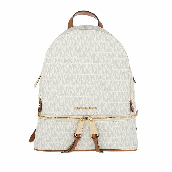 Reisetasche, MICHAEL Michael Kors, Rhea Zip MD Backpack Vanilla