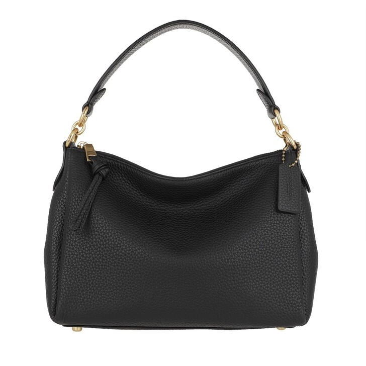 Handtasche, Coach, Soft Pebble Leather Shay Crossbody B4/Black
