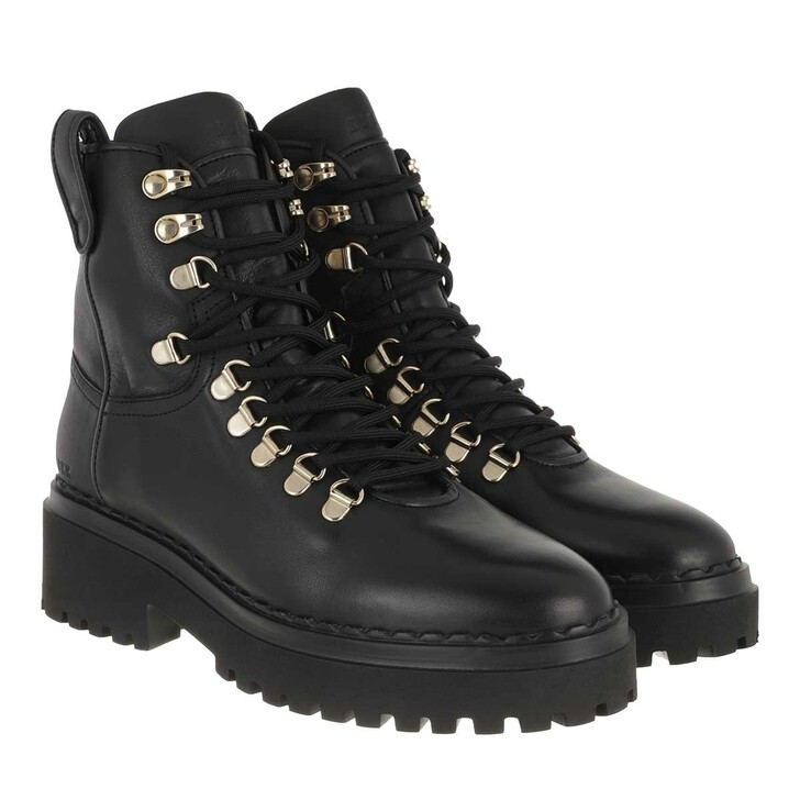 Schuh, Nubikk, Fae Roma Ladies Ankle Boot Black Leather