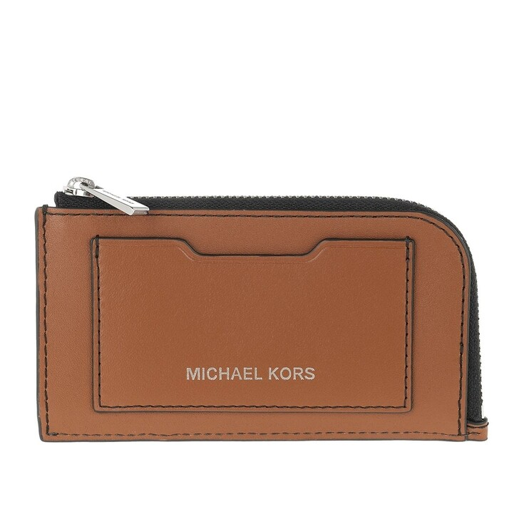 Geldbörse, MICHAEL Michael Kors, Large Zip Wallet Luggage