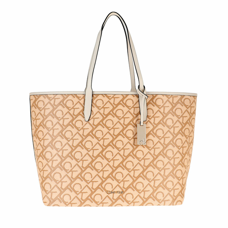bags, Calvin Klein, Shopping Bag with Laptop Pouch Birch