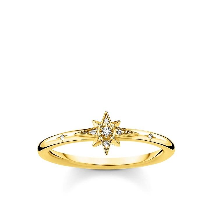 Ring, Thomas Sabo, Ring Star Pearl White