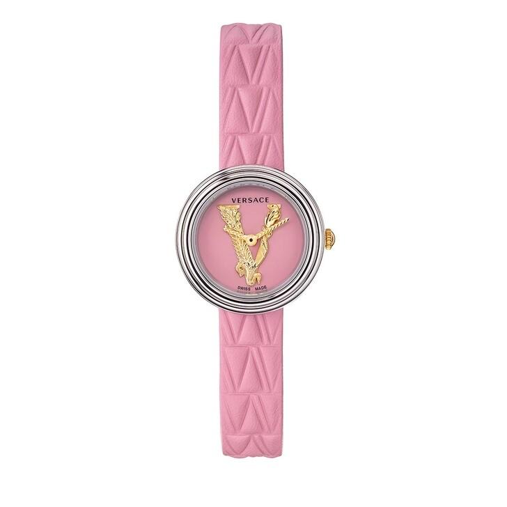 watches, Versace, MINI VIRTUS Watch Pink