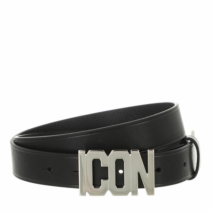 belts, Dsquared2, Hip Belt Black