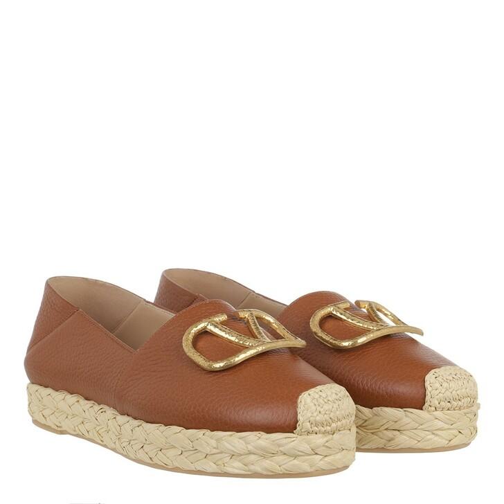 Schuh, Valentino Garavani, V-Logo Espadrille Selleria