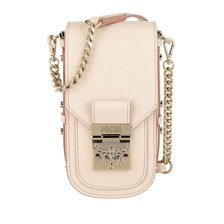 Handtasche, MCM, Patricia Park Avenue Crossbody Pink Tint